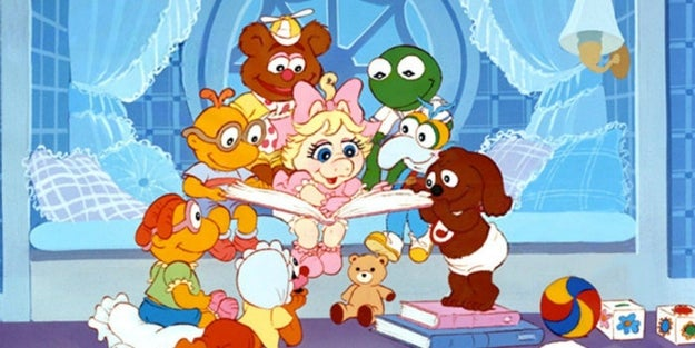 If you grew up in the '80s and early '90s, you definitely remember the classic TV show Muppet Babies. Just looking at this picture probably brings you instant comfort: