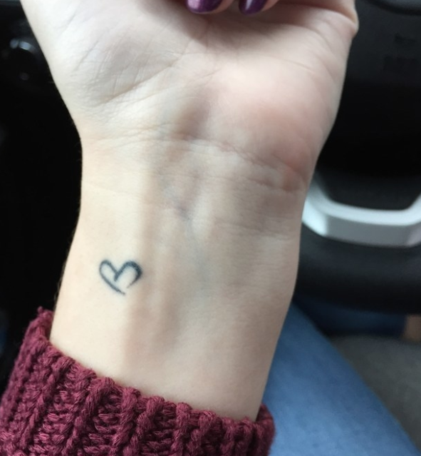 """""""Taken from a letter from my sister who passed away in 2012. A daily reminder that we're always together.""""—ardrew"""