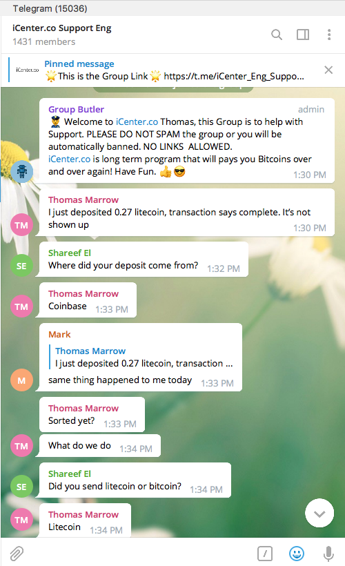 cryptocurrency price bot telegram