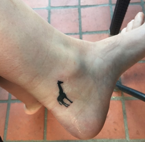 """""""After months of volunteering with wildlife in Africa, I decided to get this little guy done while I was still abroad. It's my favorite animal and a nice way to commemorate the experience.""""—alisonl12"""