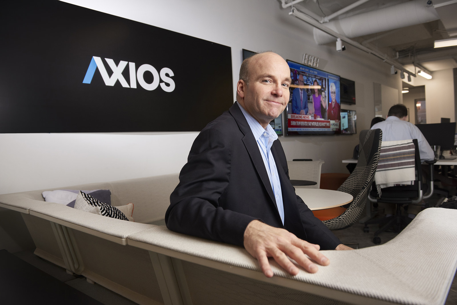 Mike Allen, cofounder of the media company Axios.