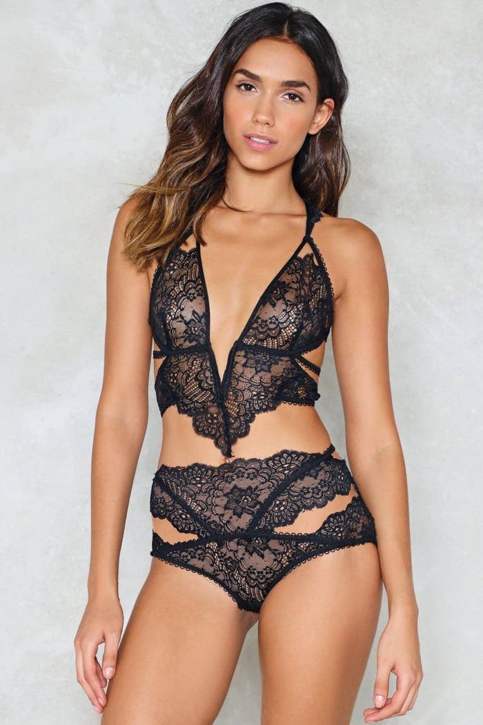 36ee49c27e6be Nasty Gal s Inexpensive Lingerie Will Make You Look Luxe AF This ...