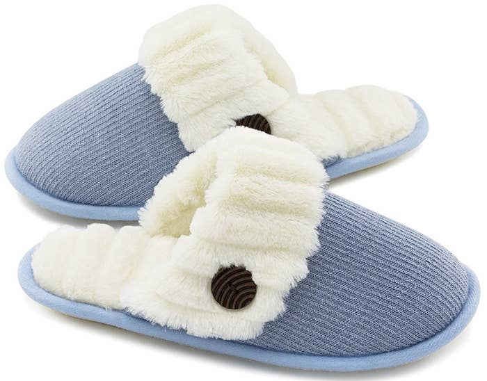 9bb2bcf66030 Washable memory foam slip-ons with a moisture-wicking lining