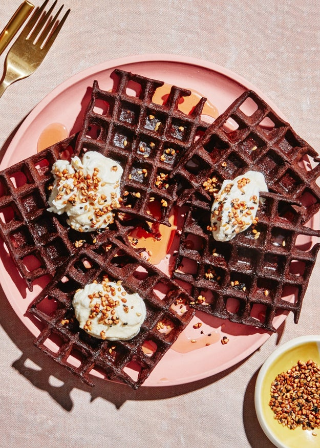 Gluten-Free Chocolate Buckwheat Waffles