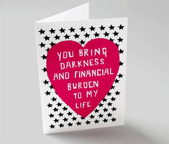17 Valentine\'s Day Cards For People Who Hate All That Mushy Stuff