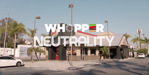 """What do you think about """"Whopper Neutrality?"""""""