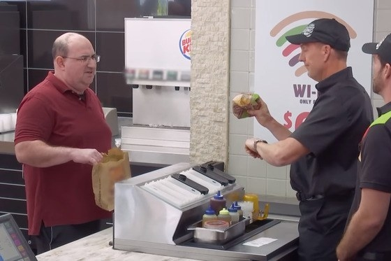 Needless to say, the Burger King customers were pretty pissed about it.