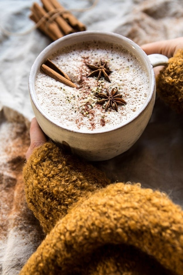 Chai Cashew and Hemp Latte