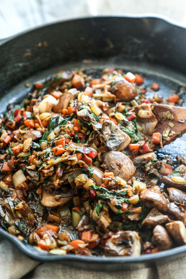 gourmet vegetarian cassoulet recipe - 600×900