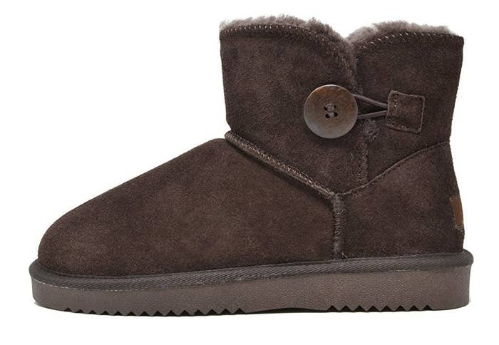 26973d483931 Cozy boots that can double as regular shoes to wear on those unfortunate  days when you actually have to leave the house.