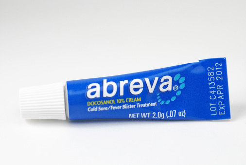 how to tell if cold sore is antiviral