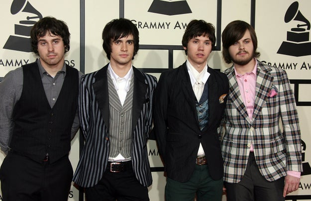 Meanwhile, your resident emo gods Panic! At the Disco looked as though they had some first-timer jitters.
