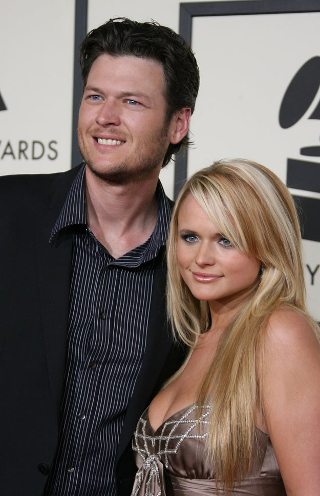 Back then in 2008, Blake Shelton and Miranda Lambert were still together...