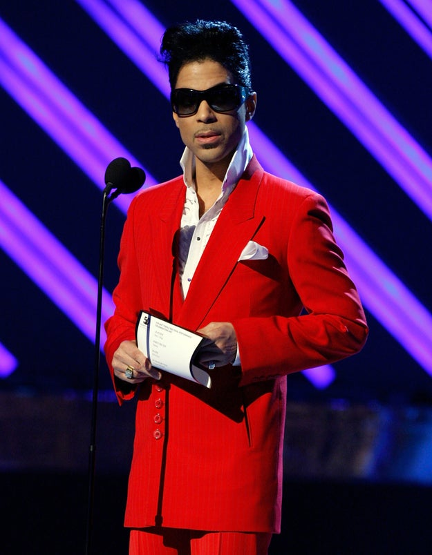 And **sobbing* at the awards ceremony, Prince presented Alicia Keys with Best Female R&B Performance.