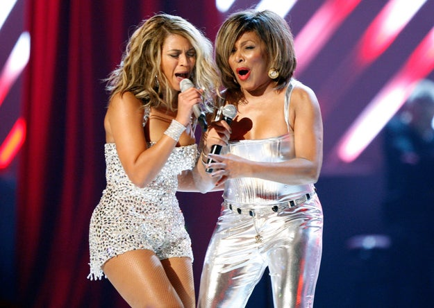 But the highlight of the night was Queen B's iconic duet with Tina Turner.