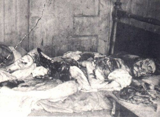 """Nov. 9, 1888, Mary Kelly's body was found by her landlord's assistant. This was the most gruesome of the murders, as her body was disemboweled and """"virtually skinned down."""""""