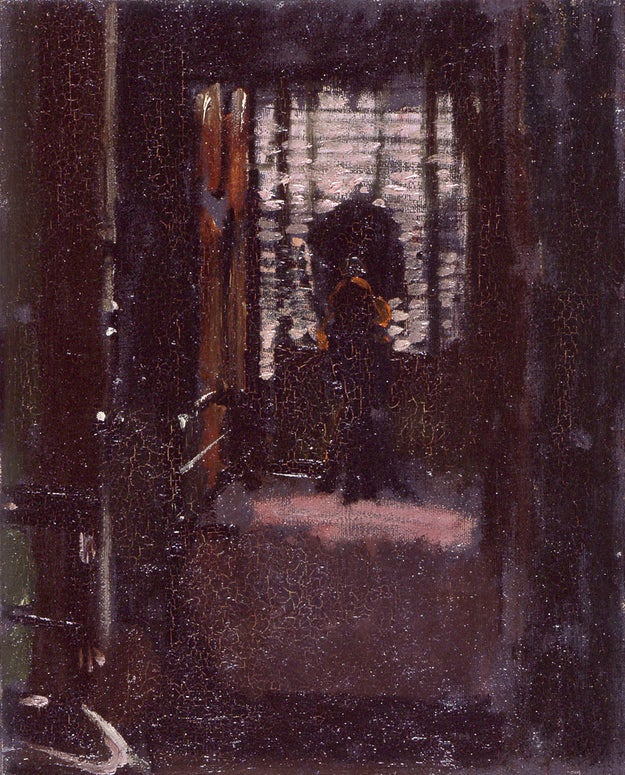 There's a sixth suspect named Walter Sickert, a painter who was known for being obsessed with the Ripper.