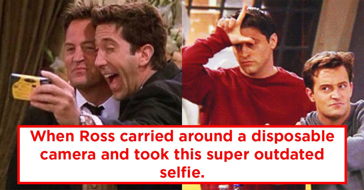 "27 Things From ""Friends"" That Today's Teens Would Never Understand"