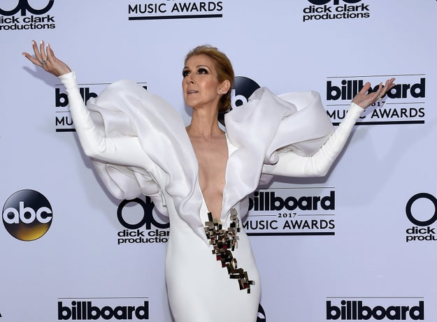 """So last week, Céline Dion's Facebook announced that she was cancelling all of her upcoming shows until March 27, due to """"congestion and irritation of the vocal chords due to a lingering cold."""""""