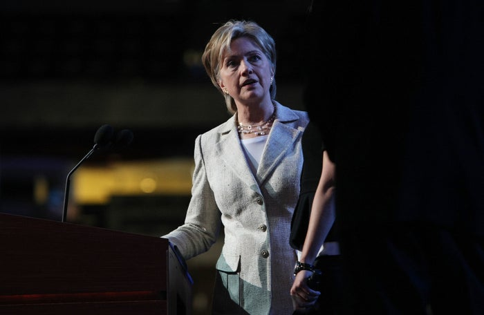 Hillary Clinton at the 2008 Democratic National Convention.
