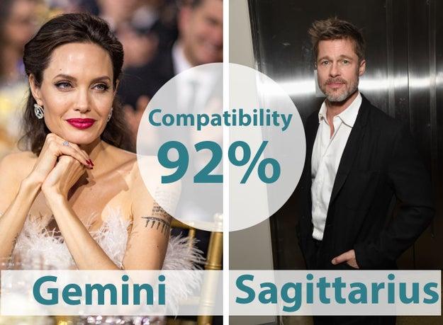 21. Angelina Jolie & Brad Pitt