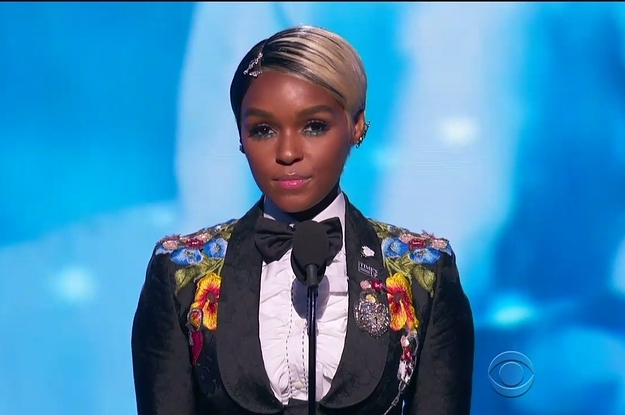 Janelle Monáe Gave A Powerful Speech About Sexual Harassment At The Grammys