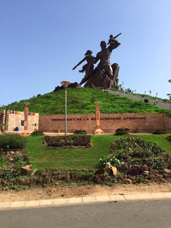 Usually when you google Sénégal this monument is one the things that pops up. The monument is quite controversial but has great views of the city when you climb the steps to the top. If you are not so interested in going up, there are plenty of things to do on ground level. There are local vendors and beautiful sites all around.