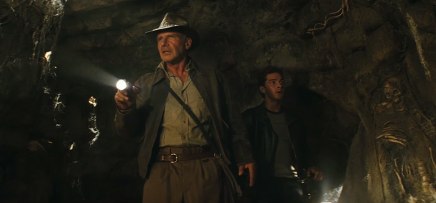The very first trailer for the highly anticipated Indiana Jones and the Kingdom of the Crystal Skull was released.