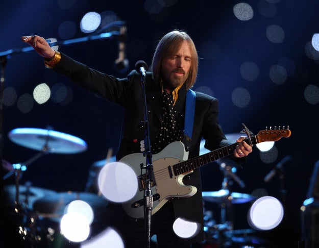 The late Tom Petty headlined the Super Bowl XLII halftime show.