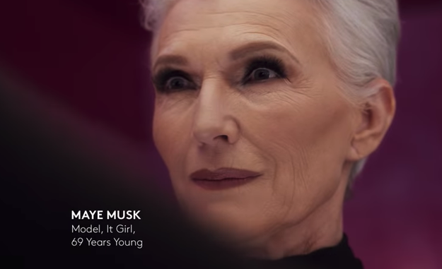 The fashion and beauty industries haven't always been the most forgiving or inclusive places for people over a certain age. In one way or another, we're constantly being told beauty and youth go hand in hand. But things are changing, finally. Major brands like COVERGIRL, are featuring older models, like 69-year old Maye Musk.