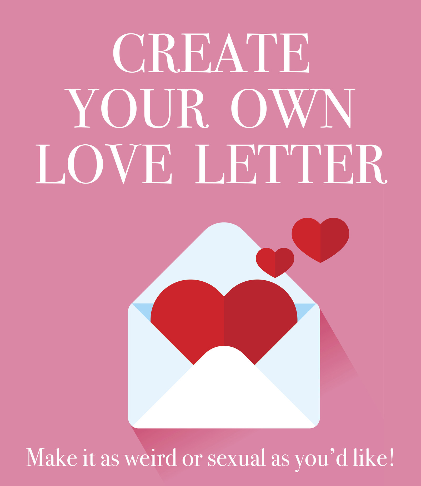 What to write in a love letter to your crush