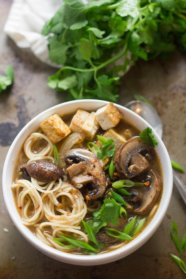 Spicy Mushroom Ramen