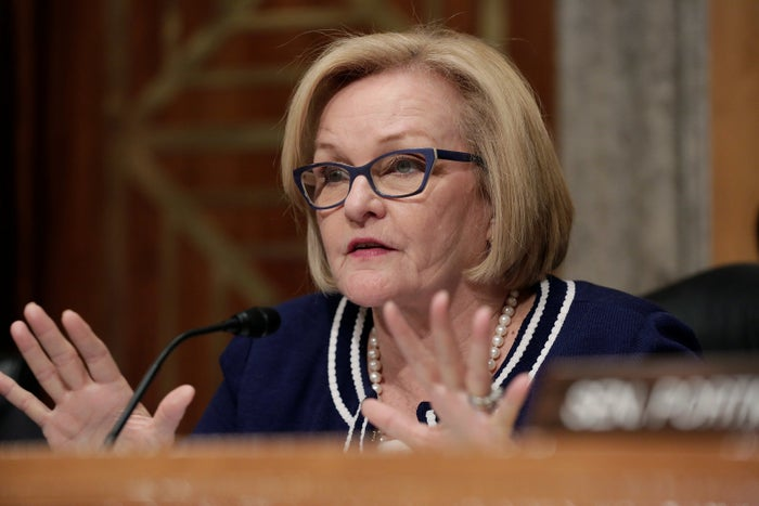 Sen. Claire McCaskill, who sponsored the Improve Data on Sexual Violence Act.