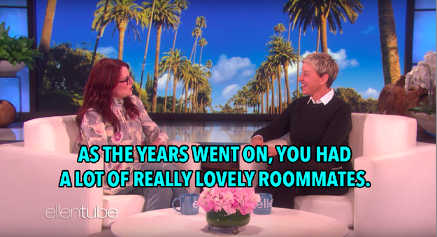 And even over the years, as Ellen had different (but equally close) roommates, Megan still never caught on.