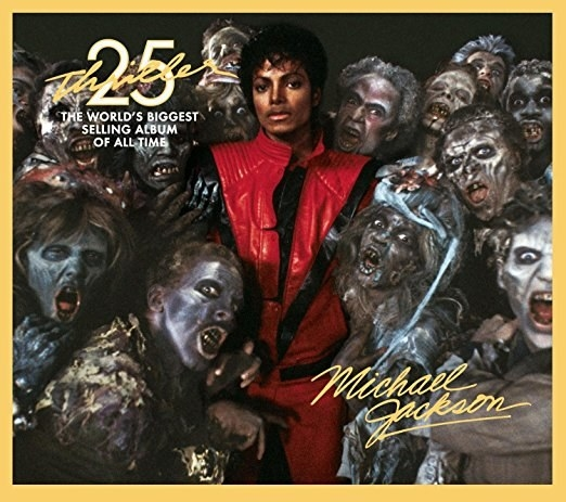 Michael Jackson rereleased Thriller, in honor of the iconic album's 25th anniversary. The album included new bonus remixes that featured Kanye West, Fergie, and will.i.am.