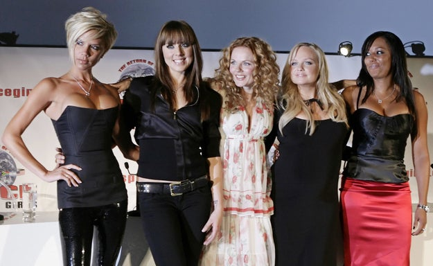 The Spice Girls performed their final concert date of their Return of the Spice Girls Tour in Toronto (they haven't toured since).