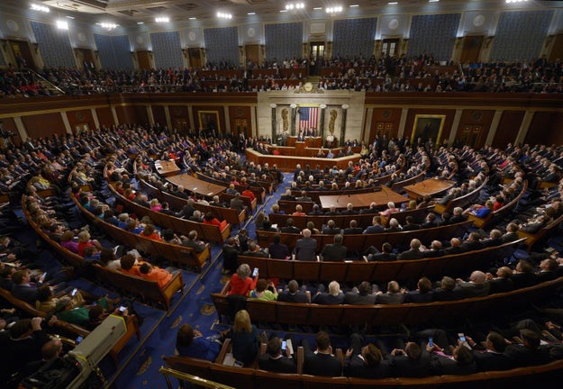 Tuesday will bring President Donald Trump's first and highly anticipated State of the Union Address — you know, that very big event where the president delivers a long, impassioned speech to the entire country.
