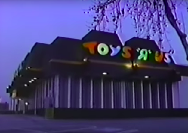 """The hauntings at Toys """"R"""" Us in Sunnyvale, California:"""