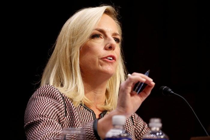 US Secretary of Homeland Security Kirstjen Nielsen.