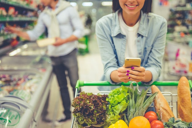 See if your grocery store has an app and check it before you shop.