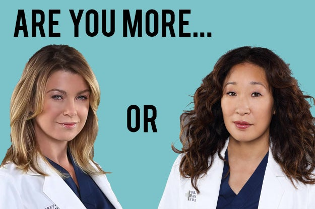 Answer These 7 Questions To Find Out If You're More Meredith Grey Or Cristina Yang