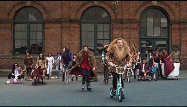 """Thrift Shop"" – Macklemore & Ryan Lewis"