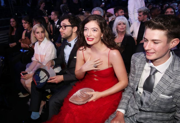 Everyone's favourite New Zealander, Lorde, attended the Grammys last night. Her album Melodrama was nominated for Album of the Year, making her the only female nominee in that category.