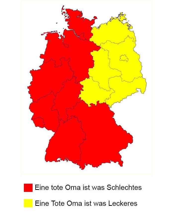 13 Arten Deutschland Zu Teilen