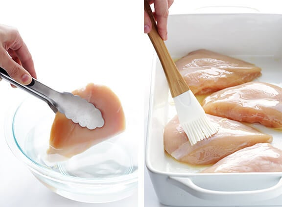 Esta es una buena manera de mantener la humedad de tu pollo, porque por supuesto que nadie debería comer pollo seco.