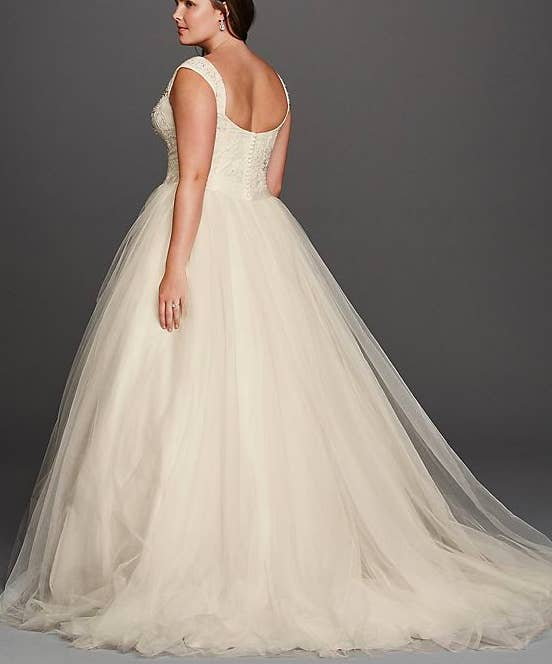 33 absolutely gorgeous plus size wedding dresses share on facebook junglespirit Choice Image