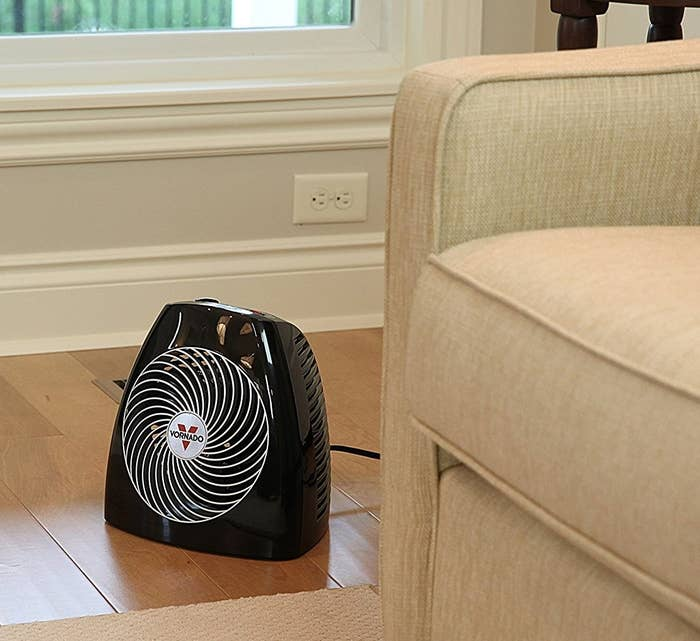 """Promising Review: """"This is only the best space heater I have ever owned. This is an excellent product that heats a large 855 square ft. space with vaulted ceilings within a few hours to an almost a too warm temperature. I've had to turn it down, which is possible with all the options. It heats the room evenly from top to bottom. I wish I had found this last year."""" —Nathan EricksonGet it from Amazon for $75.59."""