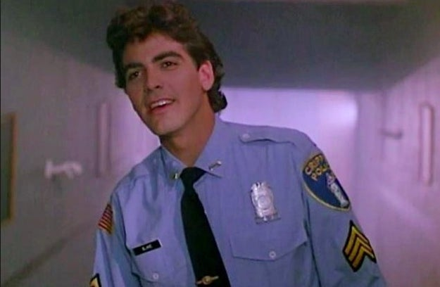George Clooney played Oliver, a police officer in Return to Horror High in 1987.