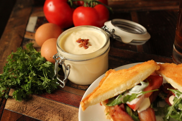 You can also use bacon fat to make unforgettable baconnaise.