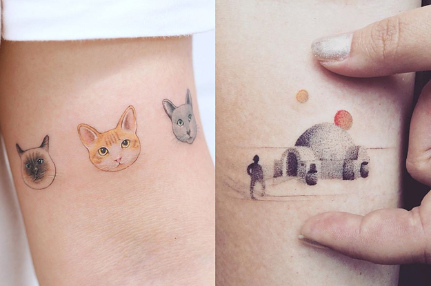22 Delicate Little Tattoos Youll Want To Get This Year